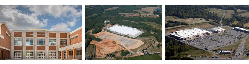 Newton Conover Middle School Maiden Apple Data Center WalMart Supercenter